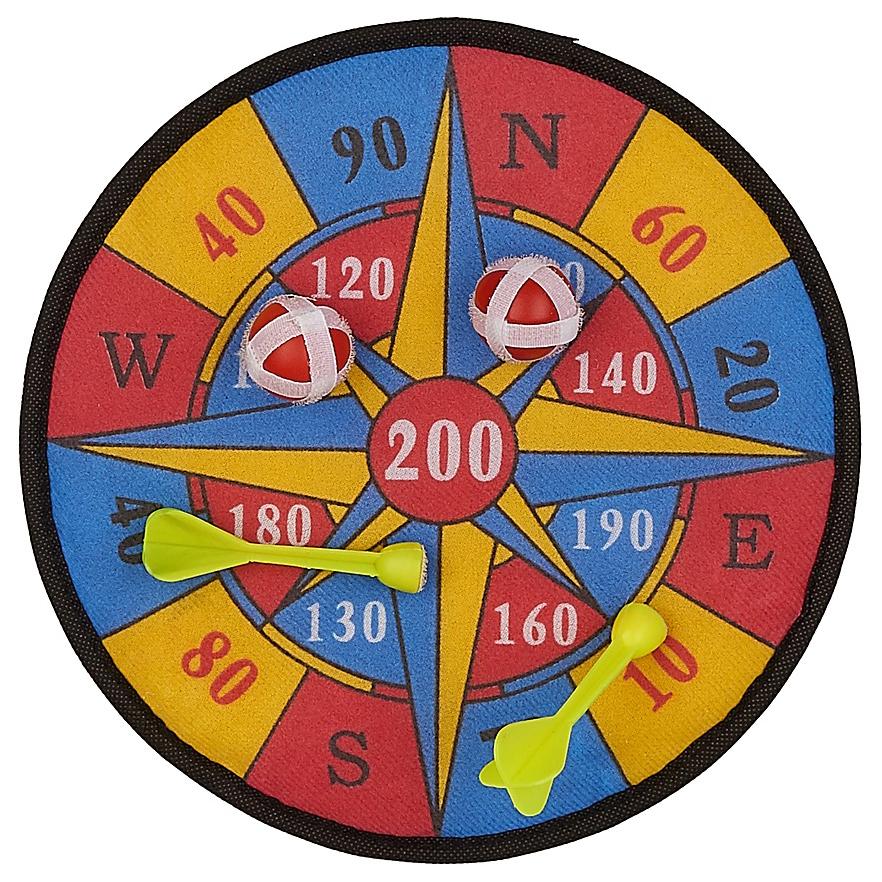 Купить Игровой набор Shantou Gepai Дартс с липучками, Дартс детский