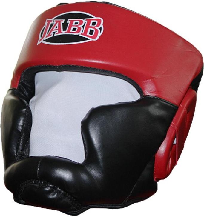 Боксерский шлем Jabb JE 2090 красный/черный M