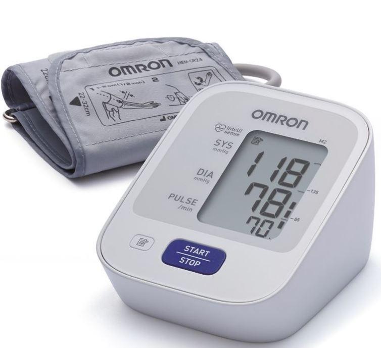 Тонометр Omron M2 Basic HEM 7121-ARU автоматический на плечо с адаптером фото
