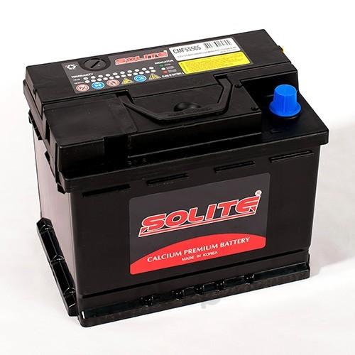 Аккумулятор автомобильный Solite CMF55565 55А/ч 510А полярность прямая фото