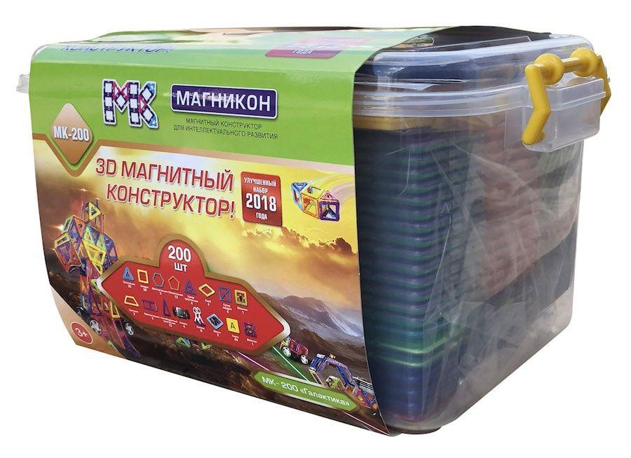 Конструктор магнитный Магникон МК-200 Галактика