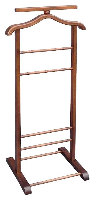 Вешалка Мебелик костюмная В 6Н Темно коричневый