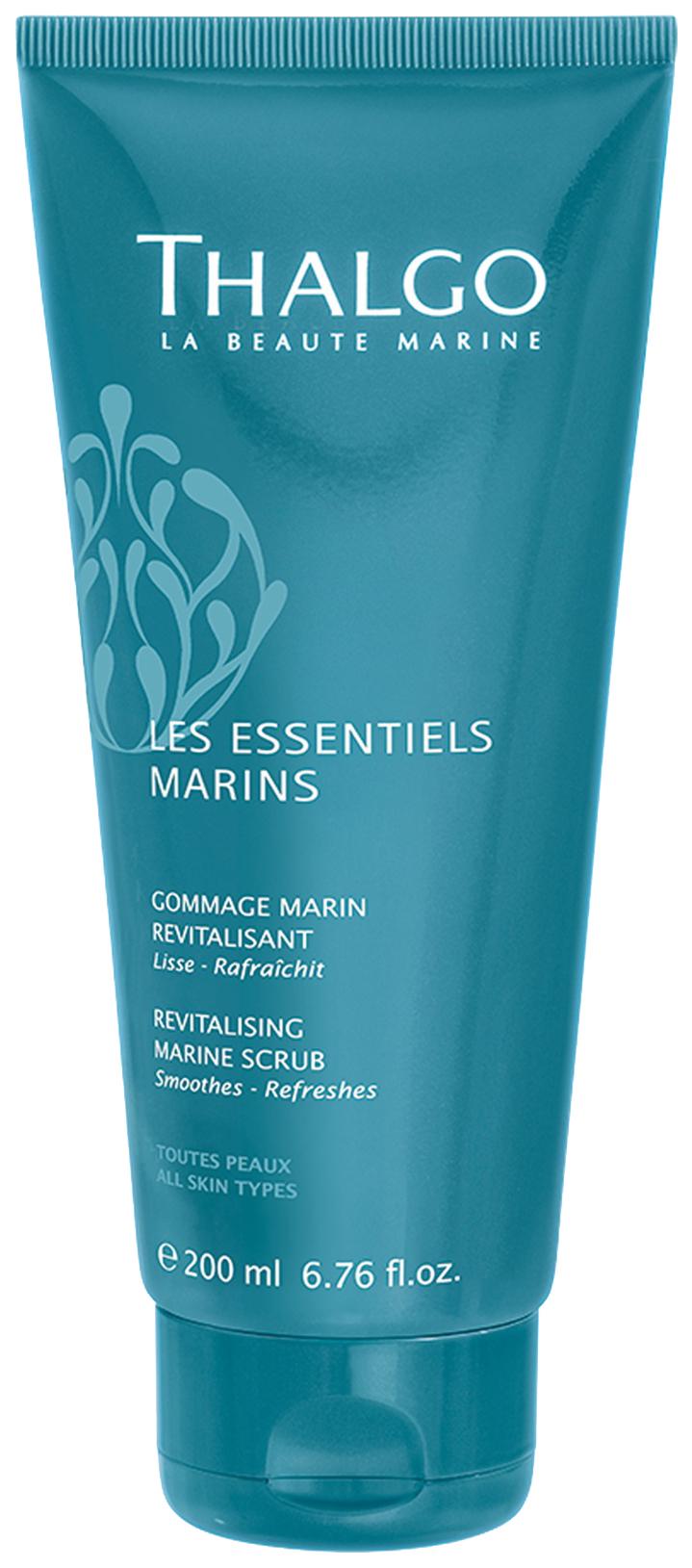 Купить Скраб для тела Thalgo Les Essentiels Marins Revitalising Marine Scrub 200 мл