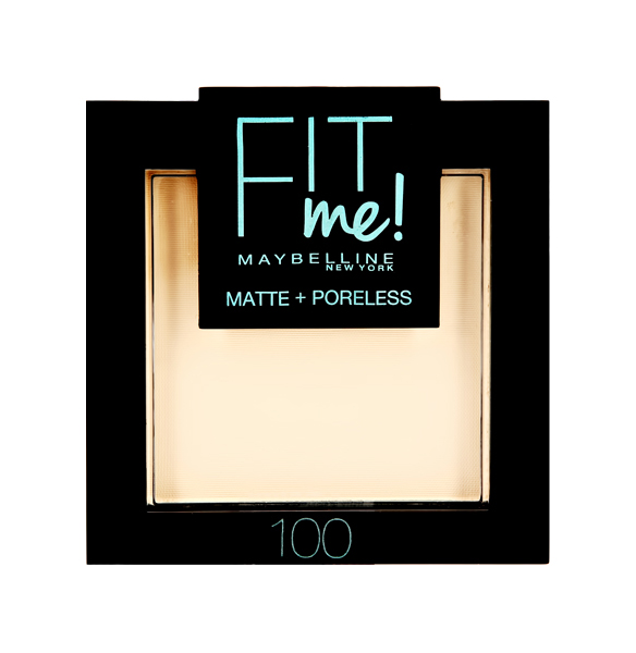 Пудра Maybelline Fit Me Matte Poreless Powder 100 фарфоровый 9 г