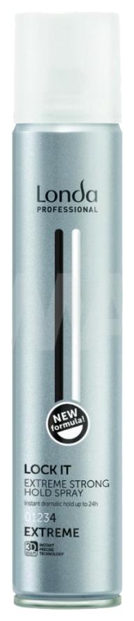 Лак для волос Londa Professional Finishing Spray Lock экстрасильной фиксации 500 мл