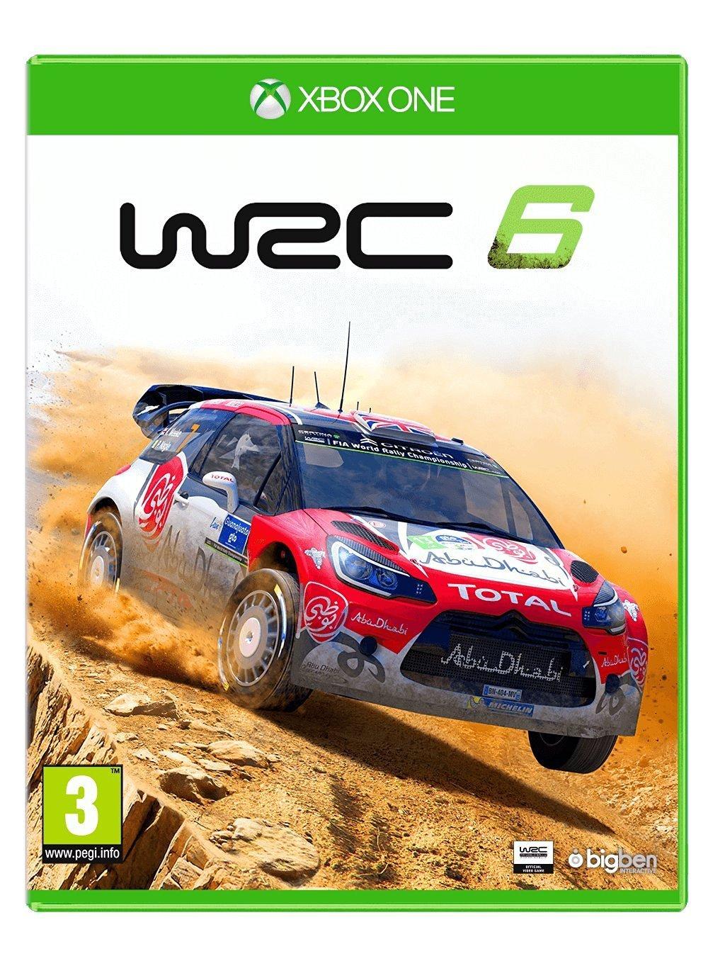 Игра WRC 6 для Xbox One фото