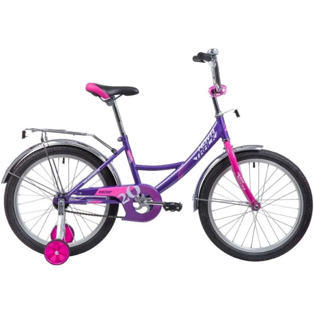 Велосипед Novatrack Vector лиловый 20 203VECTOR.LC9