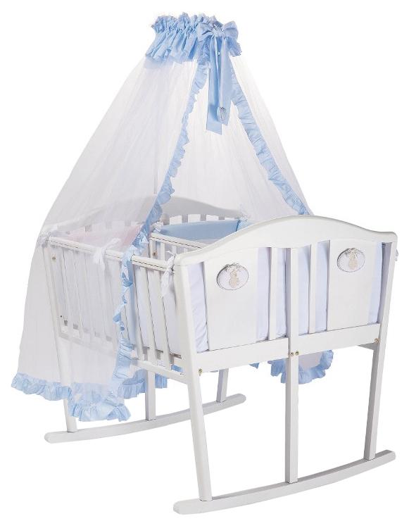 Комплект в люльку Feretti BABY BEDDINGS CULLA GEMELL белый