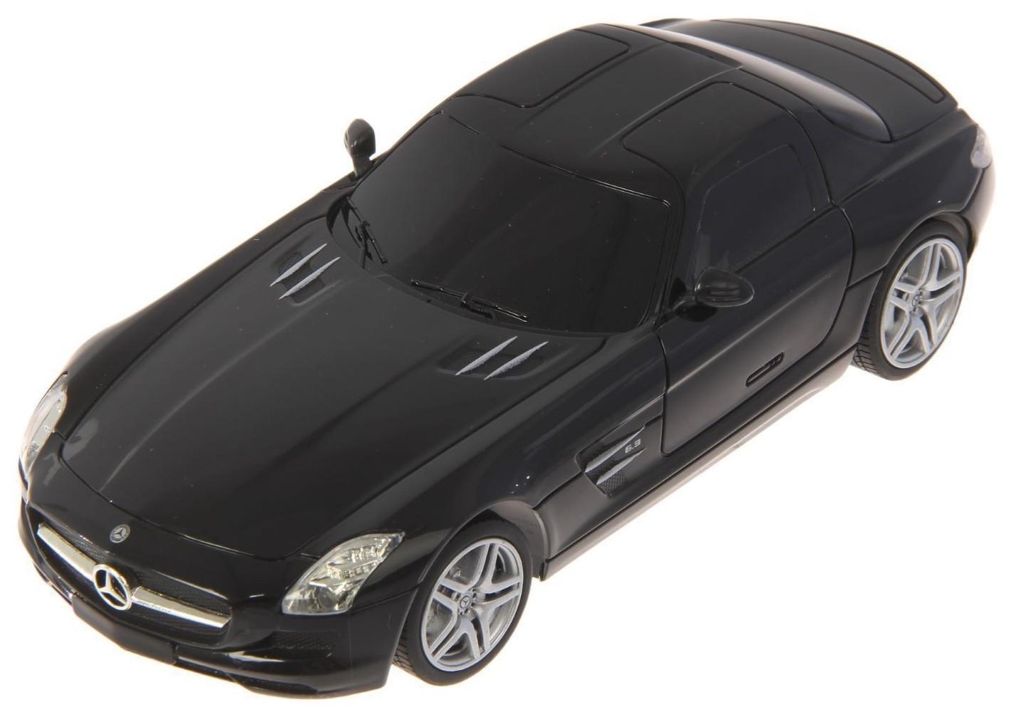 Купить Радиоуправляемая машинка Meizhi Mercedes-Benz SLS Черный, Радиоуправляемые машинки