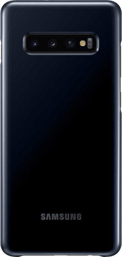 Чехол Samsung EF-KG975CBEGRU, Cover для Galaxy S10+, Black  - купить со скидкой