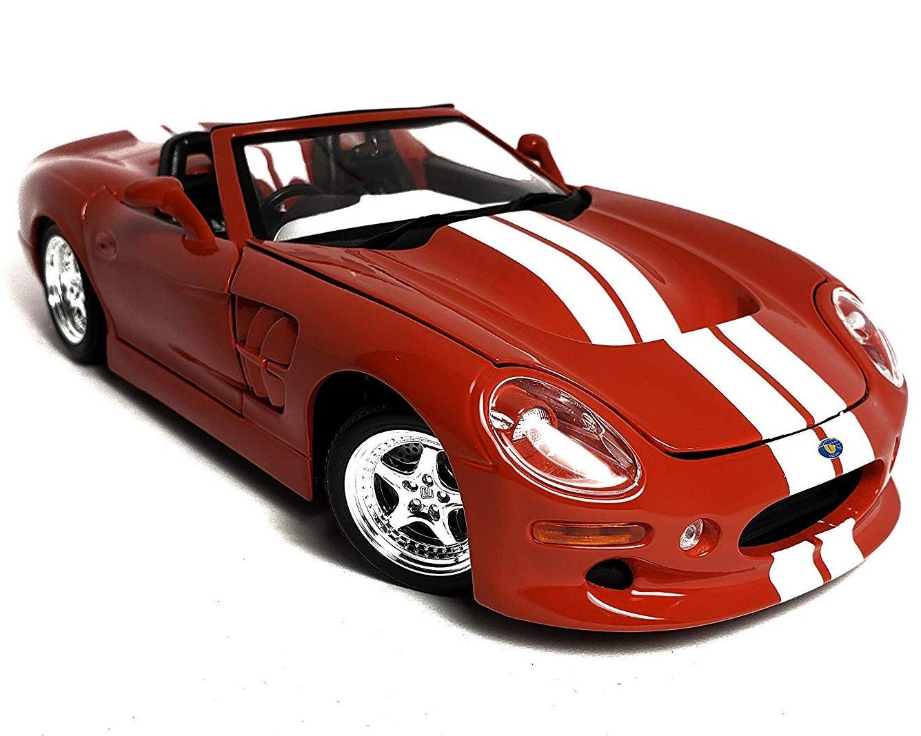 Купить Машинка Maisto 1:18 Shelby Series One 1999 года, красная, Игрушечные машинки