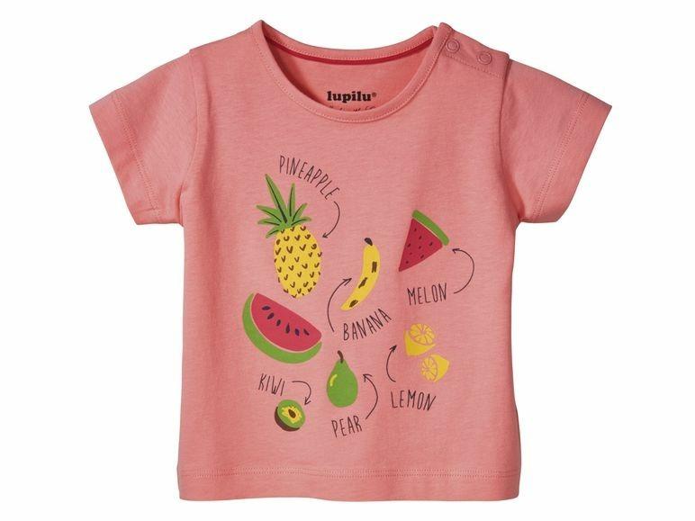 Купить Футболка для девочки Lupilu р.62-68 розовый, Детские футболки, топы
