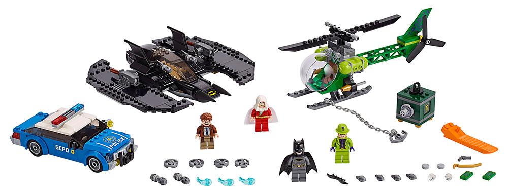 Конструктор LEGO Super Heroes Бэткрыло Бэтмена и ограбление Загадочника фото