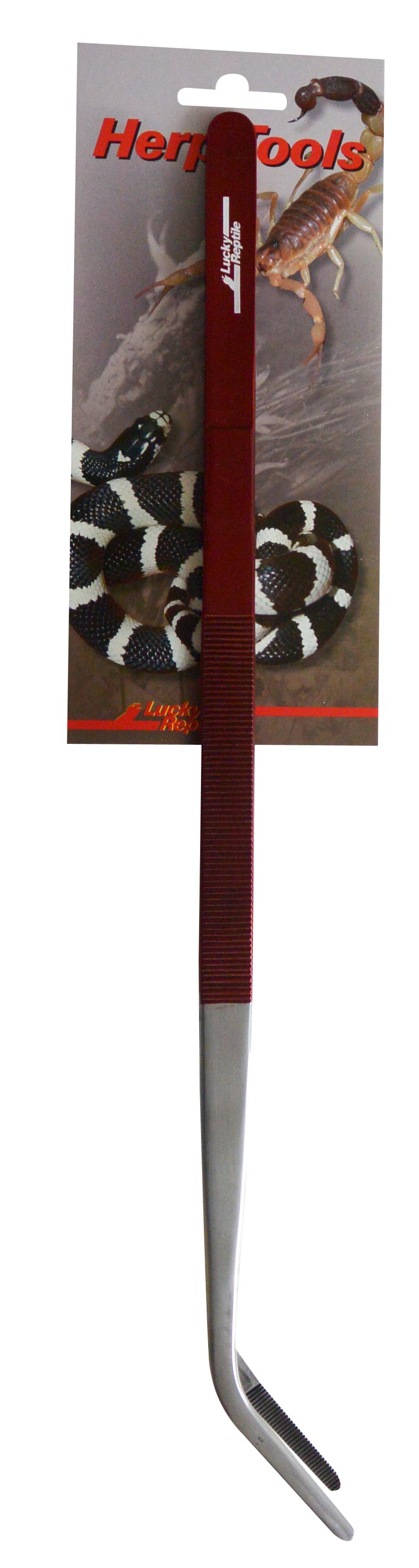 Пинцет для кормления рептилий изогнутый LUCKY REPTILE