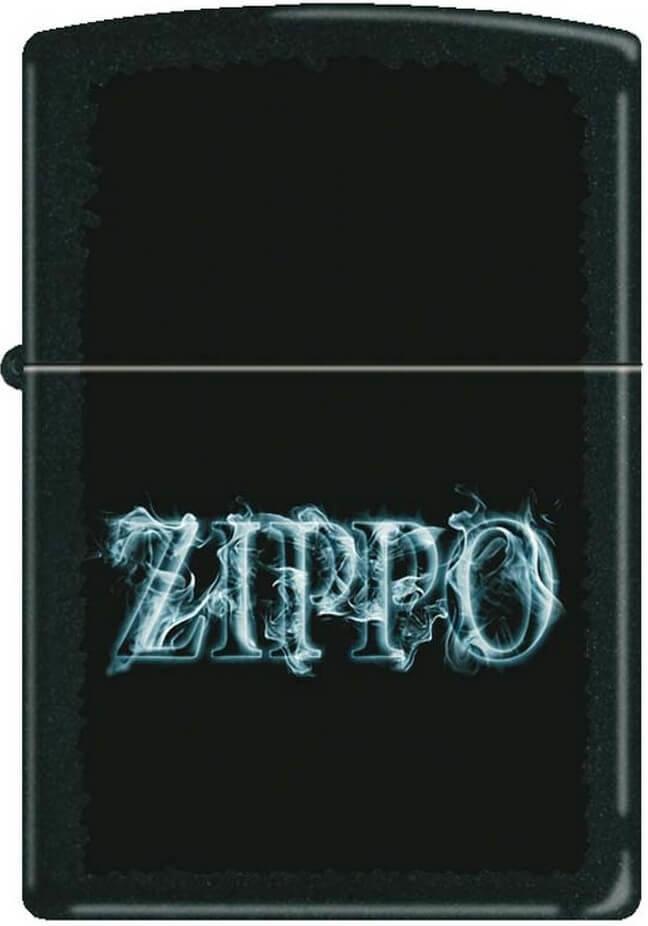 Зажигалка Zippo №218 Smoking Zippo Black Matte фото