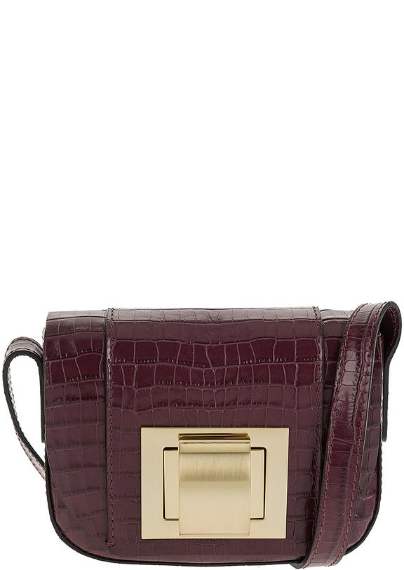 Сумка женская Gianni Chiarini BS 6540 CCGMZ merlot, фиолетовый