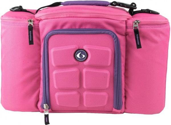 Спортивная сумка Six Pack Fitness Innovator 300 pink purple