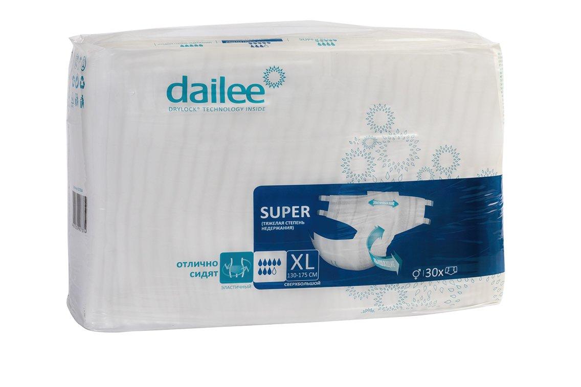 Подгузники для взрослых DAILEE размер XL 30 шт.