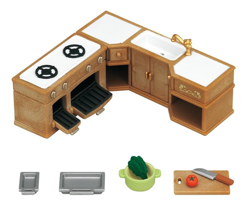 Купить Игровой набор sylvanian families кухонный гарнитур, Игровые наборы