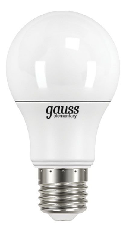 Лампочка Gauss Elementary LED 7 Вт Светодиодная фото