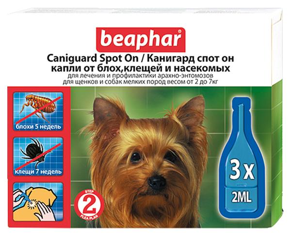 Средство от блох для домашних животных Beaphar Caniguard
