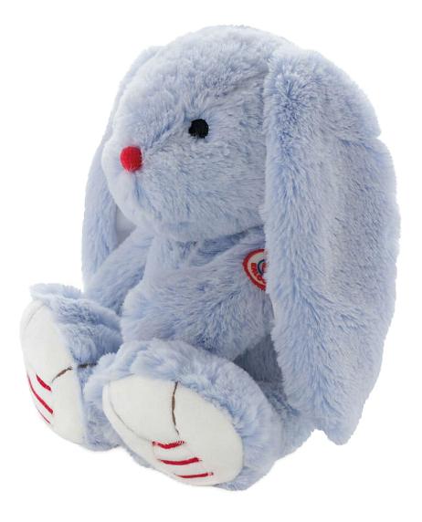Купить Заяц Руж средний 31 см, голубой, Мягкая игрушка Kaloo Заяц 31 см (K963548), Мягкие игрушки животные