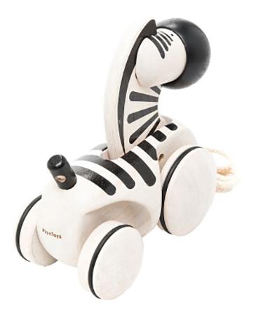 Купить Зебра, Каталка детская Plan Toys Зебра, PlanToys, Каталки детские