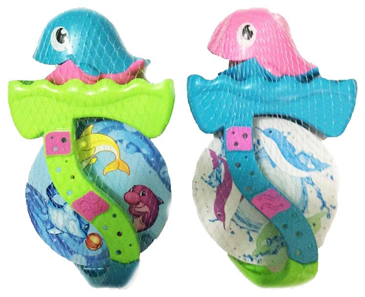 Игрушка для купания ABtoys «Веселое купание» Дельфин-мельница (2 предмета) PT-00531, Игрушки для купания малыша  - купить со скидкой