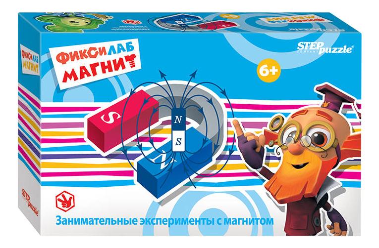 Семейная настольная игра Step Puzzle Фиксилаб Магнит