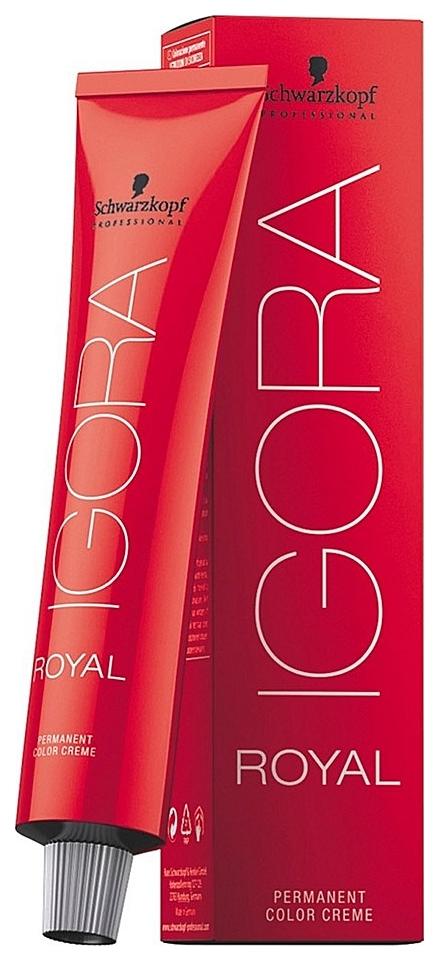 Купить Краска для волос Schwarzkopf Igora Royal 7-00 Средний русый натуральный экстра 60 мл, Schwarzkopf Professional