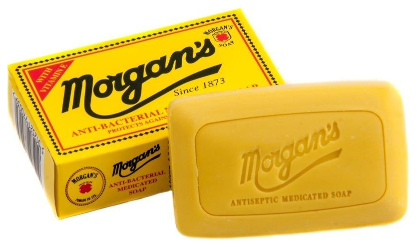 MORGAN S POMADE ANTIBACTERIAL MEDICATED SOAP
