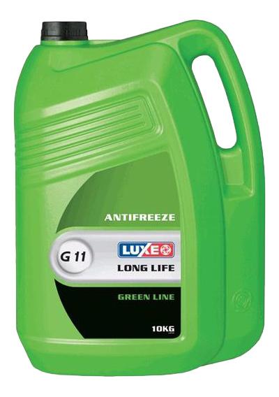 Антифриз LUXE Зеленый Готовый антифриз -42 10кг 672 фото