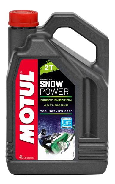 Моторное масло Motul Snowpower 2T 5W-30 4л 105888
