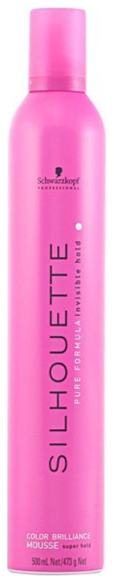 Мусс для волос Schwarzkopf Professional Silhouette Pure Colour Brillance 500 мл
