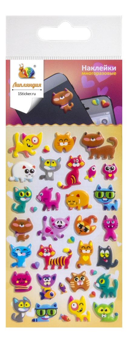 Наклейка декоративная для детской комнаты Липляндия Кошки непоседы