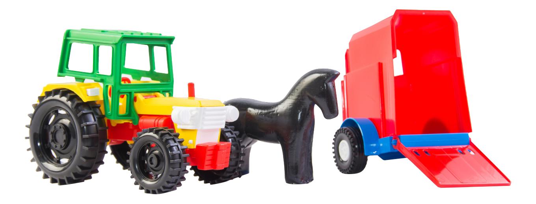 Купить Спецтехника Wader Трактор с прицепом, Строительная техника