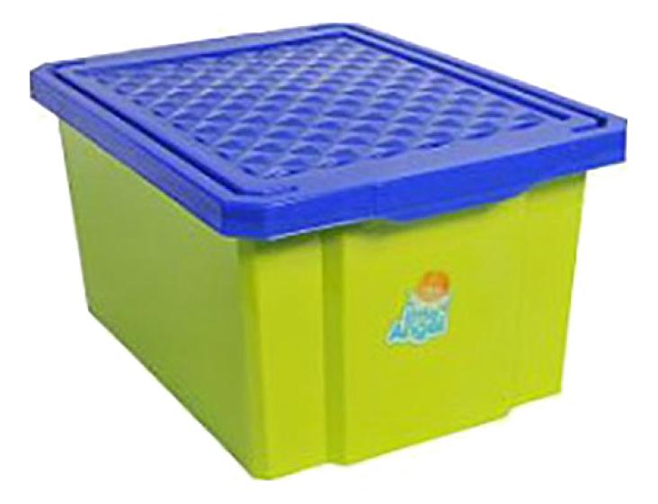 Ящик для хранения игрушек Plastic Republic 17 л зеленый