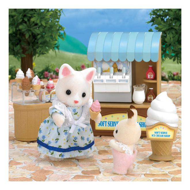 Купить Игровой набор Sylvanian Families Магазин мороженого, Игровые наборы