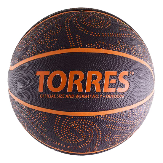 Баскетбольный мяч Torres TT B00127 №7 black фото