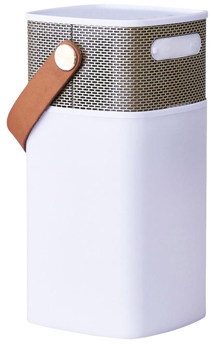 Колонка беспроводная Kreafunk Aglow с подсветкой Медь