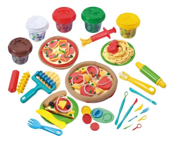 Купить Набор для лепки из пластилина Playgo Моя пиццерия, Play&Go, Лепка