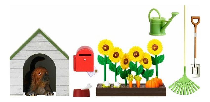 Смоланд Сад с питомцем LB_60509000 для домиков Lundby фото