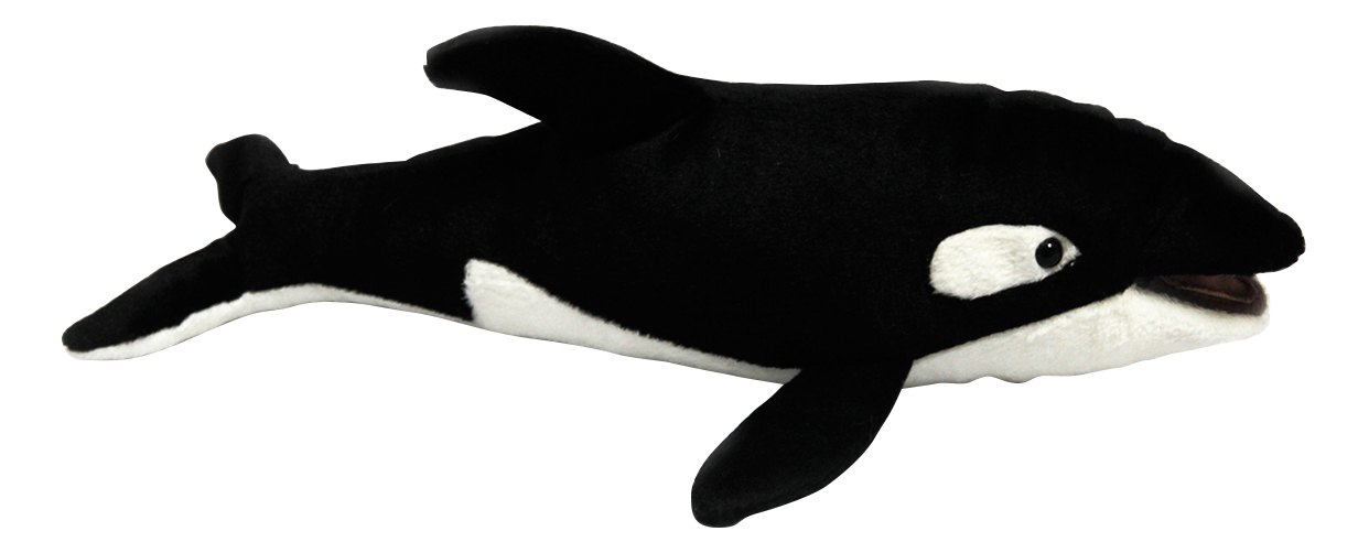 Купить Мягкая игрушка Hansa Косатка 33 см 6150, Мягкие игрушки животные