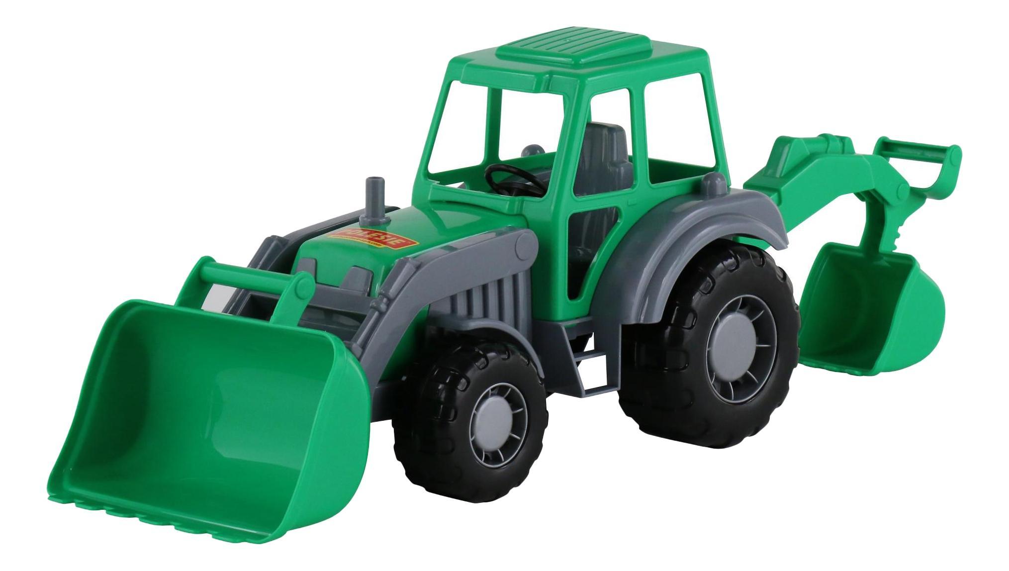 Алтай трактор экскаватор, Алтай трактор-экскаватор Полесье 35394, Строительная техника  - купить со скидкой