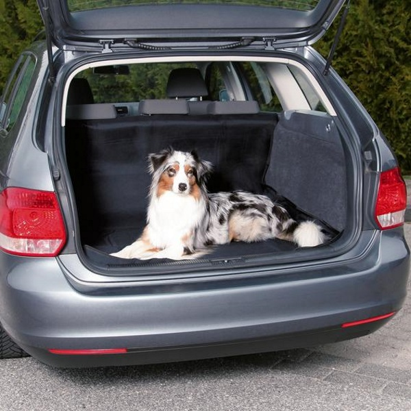 Автомобильная подстилка для собак TRIXIE 150x120x серый,