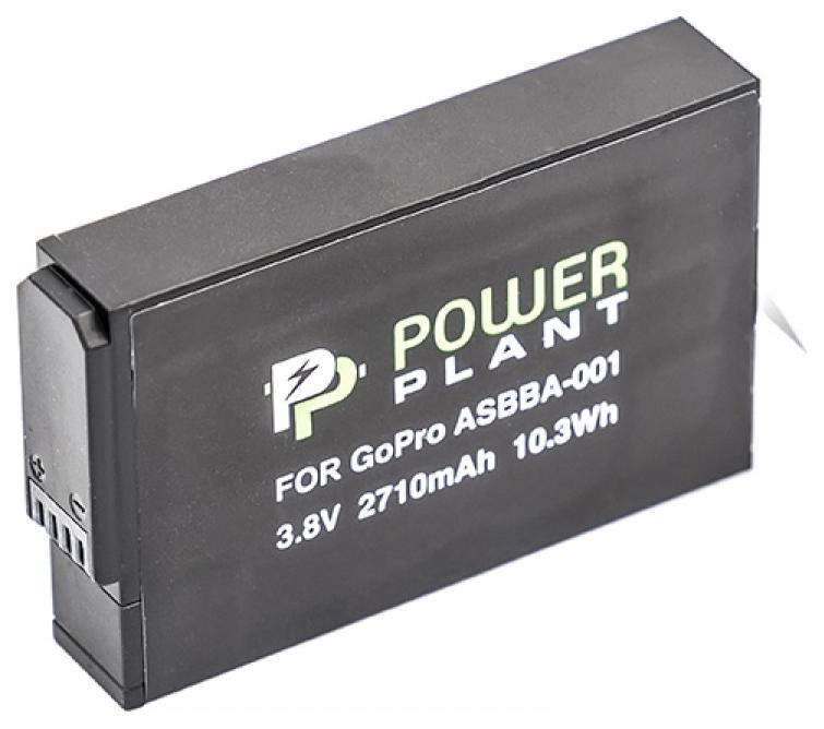 Аккумулятор для экшн камеры PowerPlant для GoPro