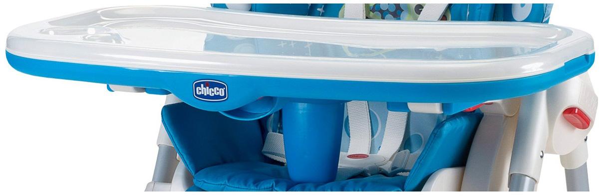 Столик для стульчика для кормления Chicco Polly New Синий фото