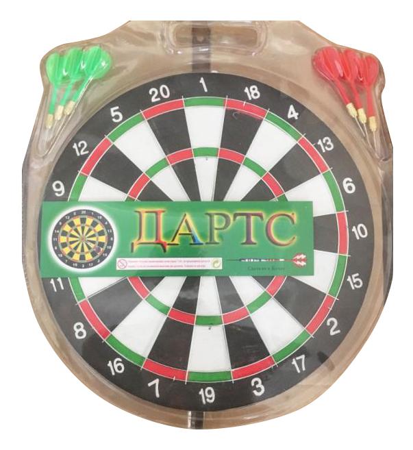 Купить Игровой набор Дартс 30 см Shantou Gepai D12SPORT, Дартс детский