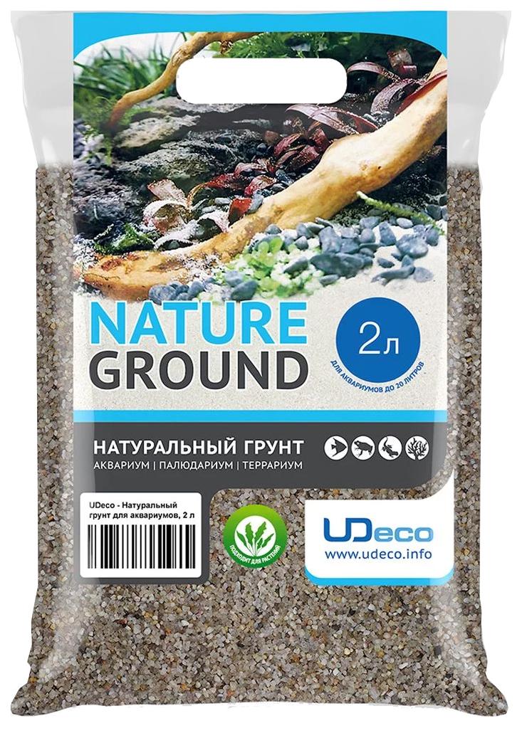 Натуральный грунт для аквариумов UDeco River Light