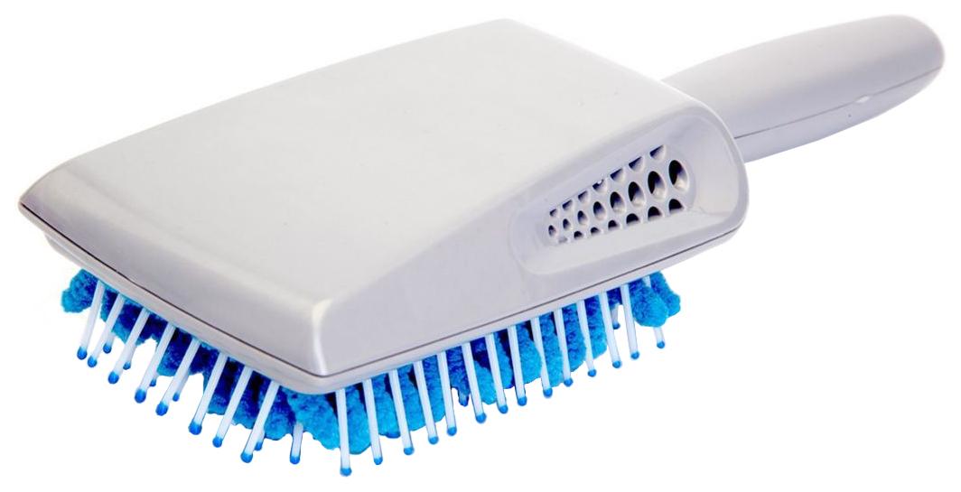 Купить Расческа Bradex для сушки волос с микрофиброй, Щетка для сушки волос с микрофиброй
